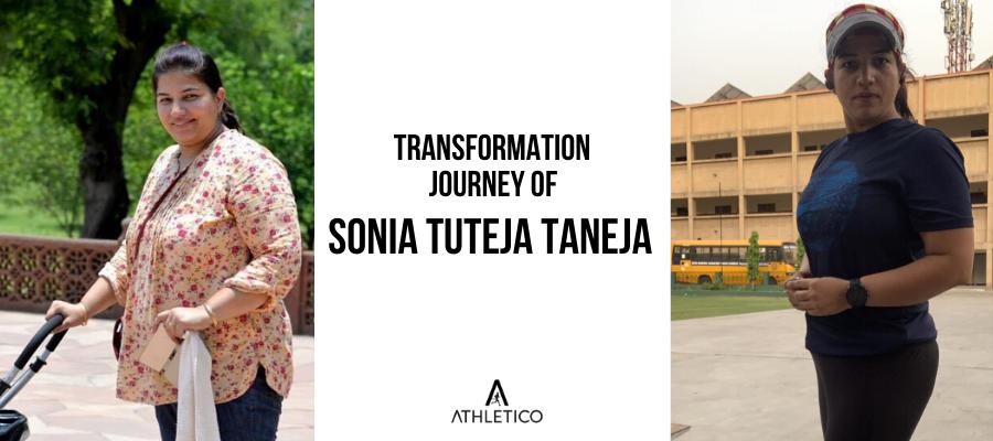 Fitness transformation journey