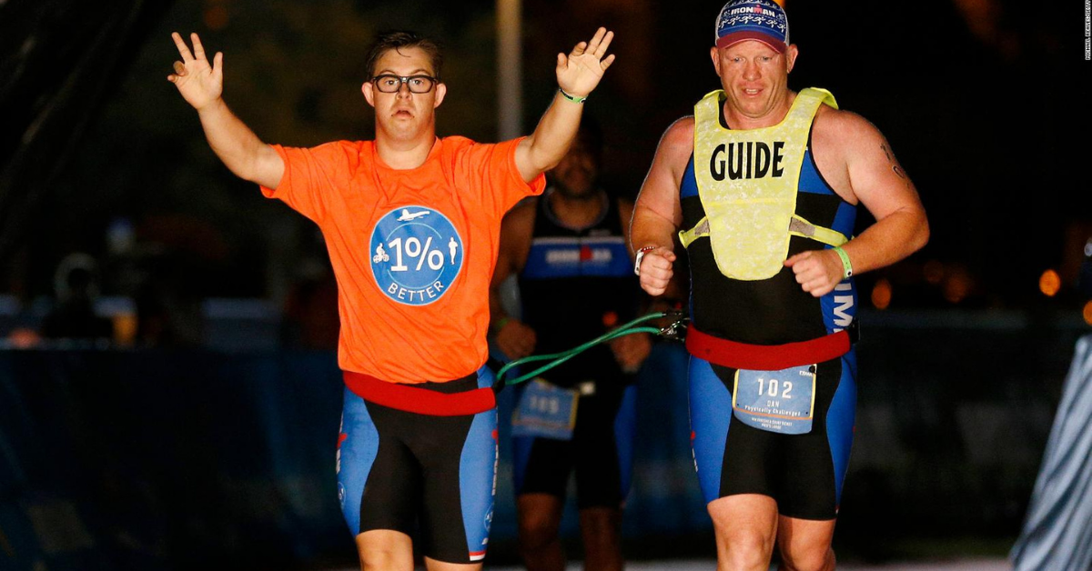 Chris Nikic becomes the 1st person with Down syndrome to compete during a full