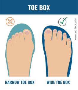 toe box shoes